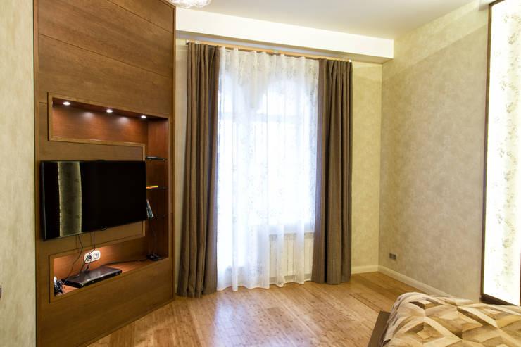 Интерьер квартиры в современном стиле: Спальни в . Автор – Antica Style