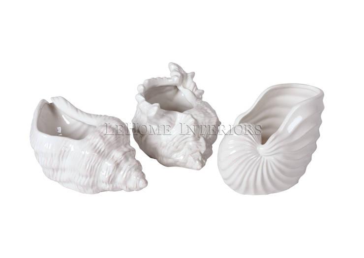 Декоративные ракушки (комплект из 3-х штук) V895: Гостиная в . Автор – LeHome Interiors