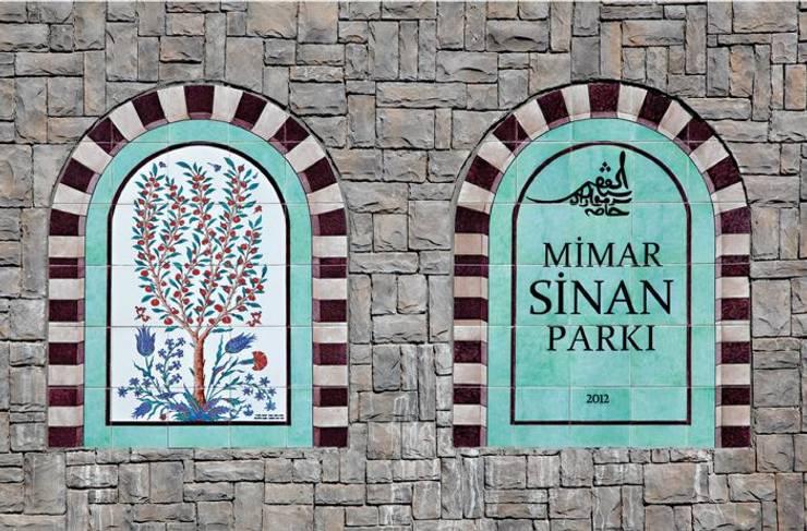 ANİKYA İZNİK ÇİNİ – MİMAR SİNAN PARKI / ATAŞEHİR - İSTANBUL:  tarz Bahçe