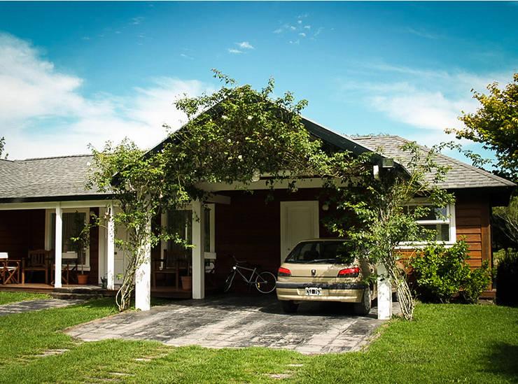 Casas de estilo  por Chauvín Arquitectura