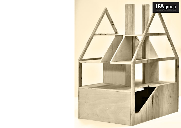 makieta: styl , w kategorii Salon zaprojektowany przez IFA Kamil Domachowski