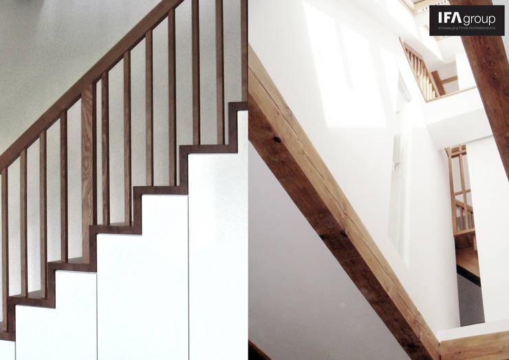 zdjęcia wstępne z realizacji: styl , w kategorii Salon zaprojektowany przez IFA Kamil Domachowski