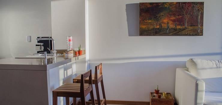 Remodelación Departamento LZ en Caballito: Comedores de estilo  por RSOarquitectos
