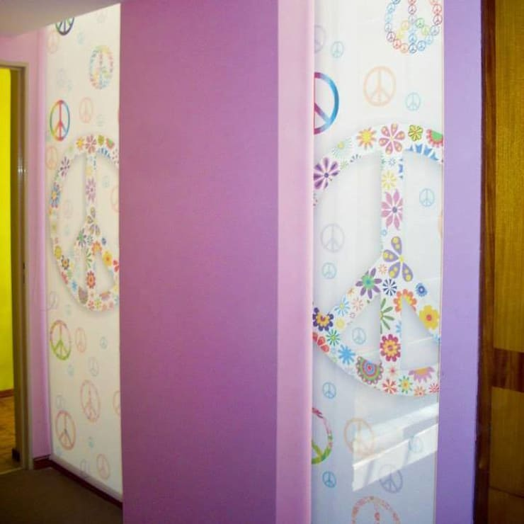 Nursery/kid's room by cortinasrolleronline,