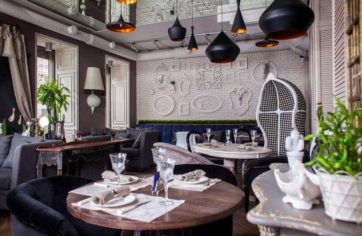 Деликатесси - рестокафе: Ресторации в . Автор – Zelensky interiors