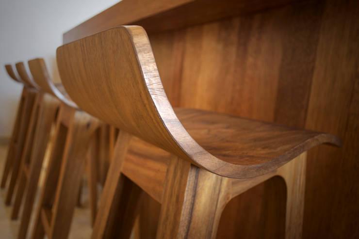 de estilo  por diesco, Moderno Compuestos de madera y plástico