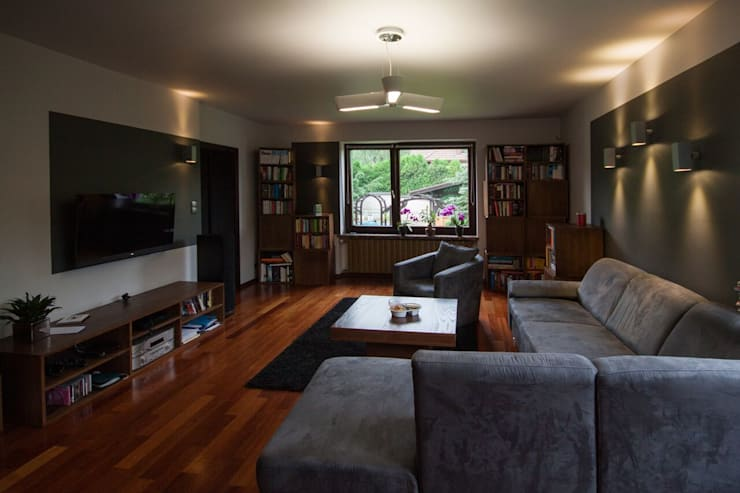 Mieszkanie: styl , w kategorii Salon zaprojektowany przez 3D2 design art