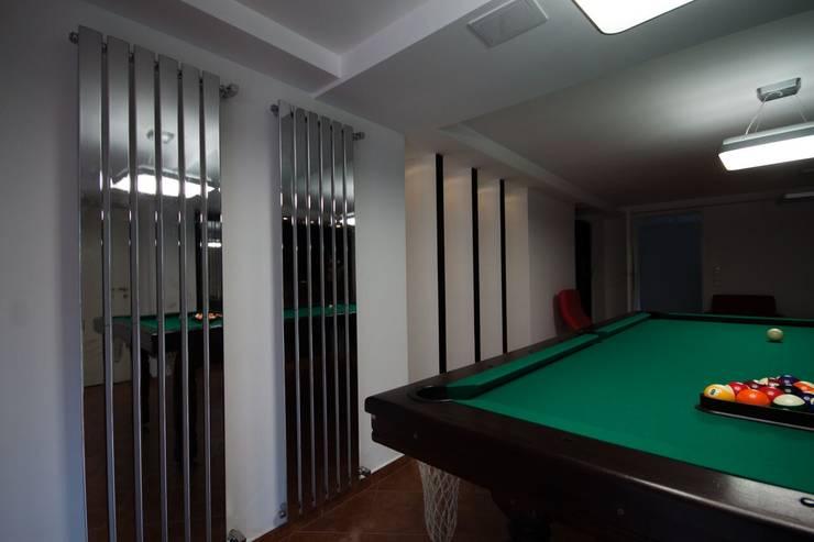 Mieszkanie: styl , w kategorii Pokój multimedialny zaprojektowany przez 3D2 design art