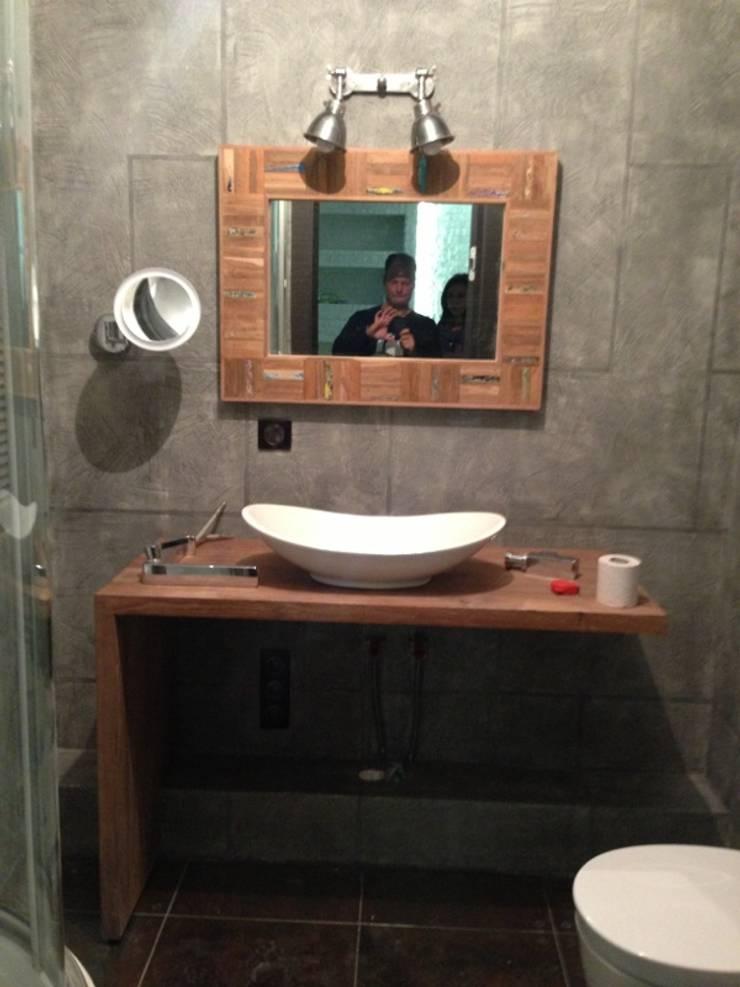 Квартира на Ярославском: Ванные комнаты в . Автор – Valeria Ganina