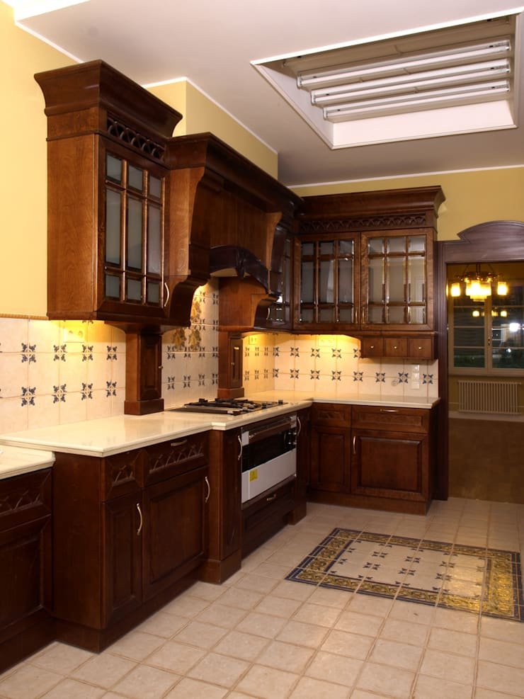 Willa w Sopocie: styl , w kategorii Kuchnia zaprojektowany przez Grafick sp. z o. o.,Nowoczesny
