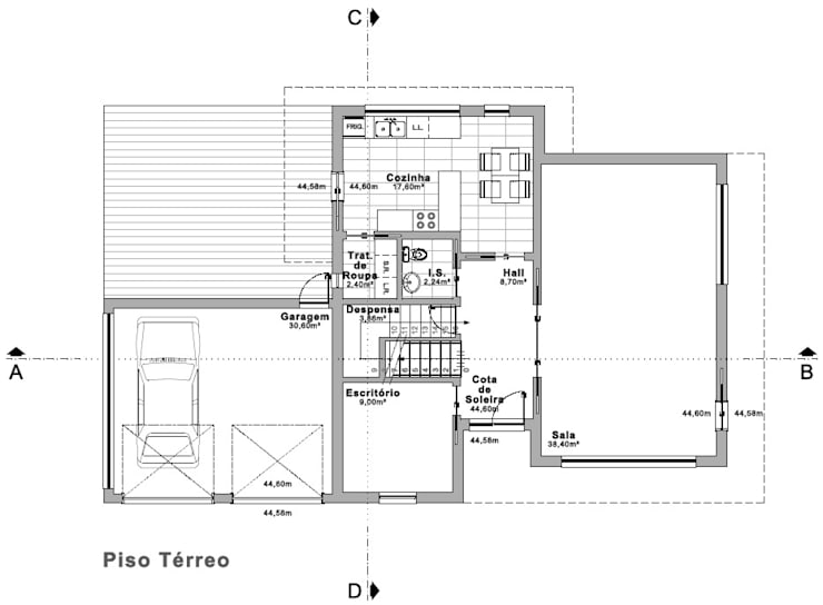 Moradia Quinta do Anjo:   por Gabinete de Projecto Traço 3