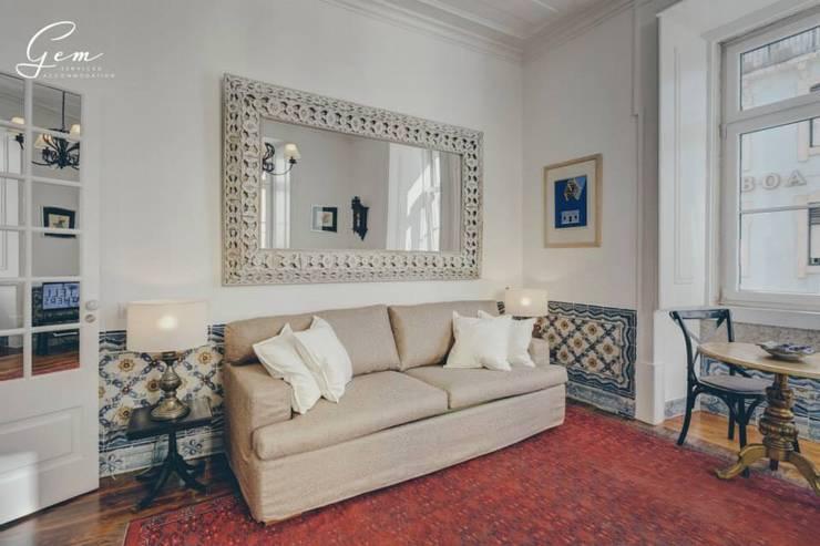 Projekty,  Salon zaprojektowane przez Obrasdecor