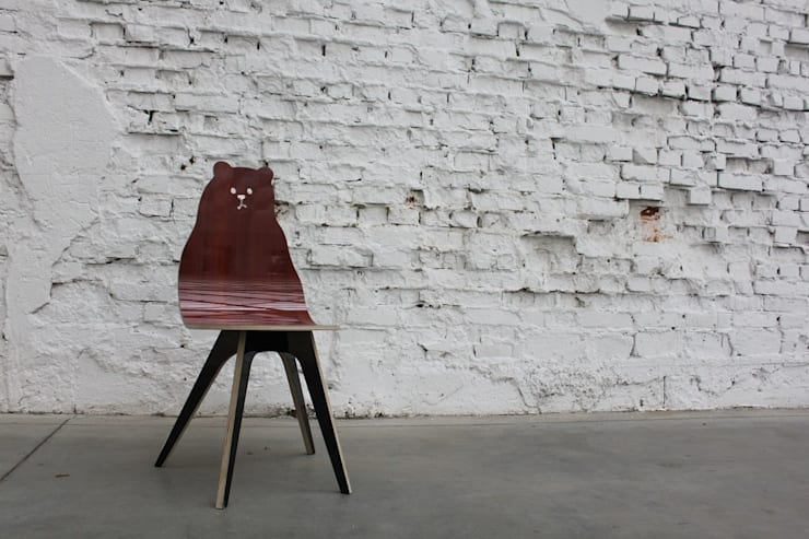 Miś: styl , w kategorii Salon zaprojektowany przez TUPATRZ