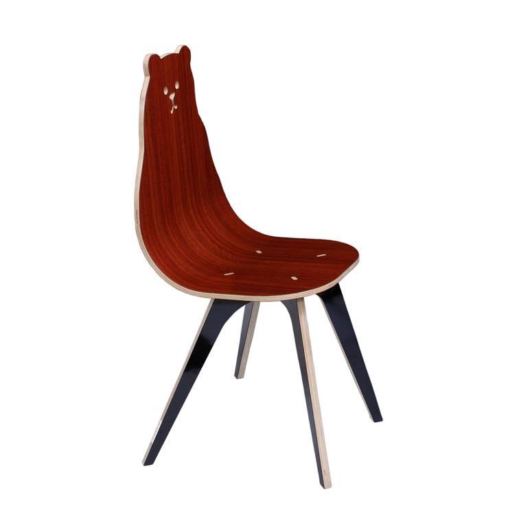 Miś: styl , w kategorii Domowe biuro i gabinet zaprojektowany przez TUPATRZ