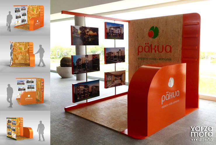 Päkua: Oficinas y tiendas de estilo  por Xarzamora Diseño