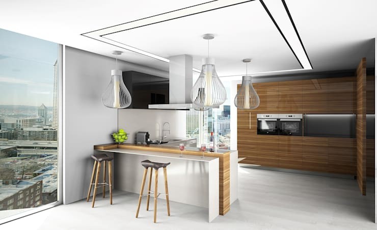 eclectic Kitchen by Live Decoration