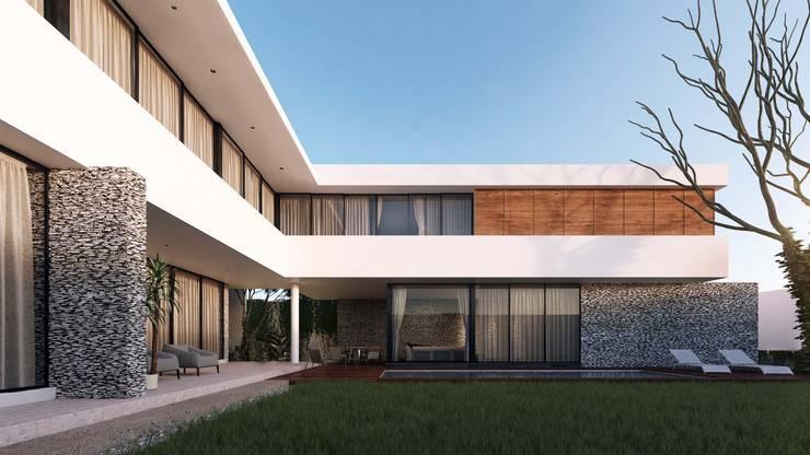 Casa Ortiz: Casas de estilo  por TNGNT arquitectos