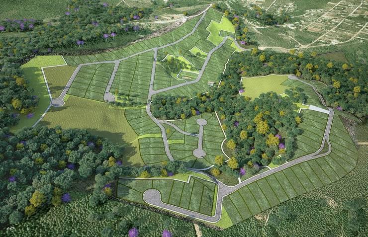 projeto: Casas  por Myr Projetos Sustentáveis,Campestre