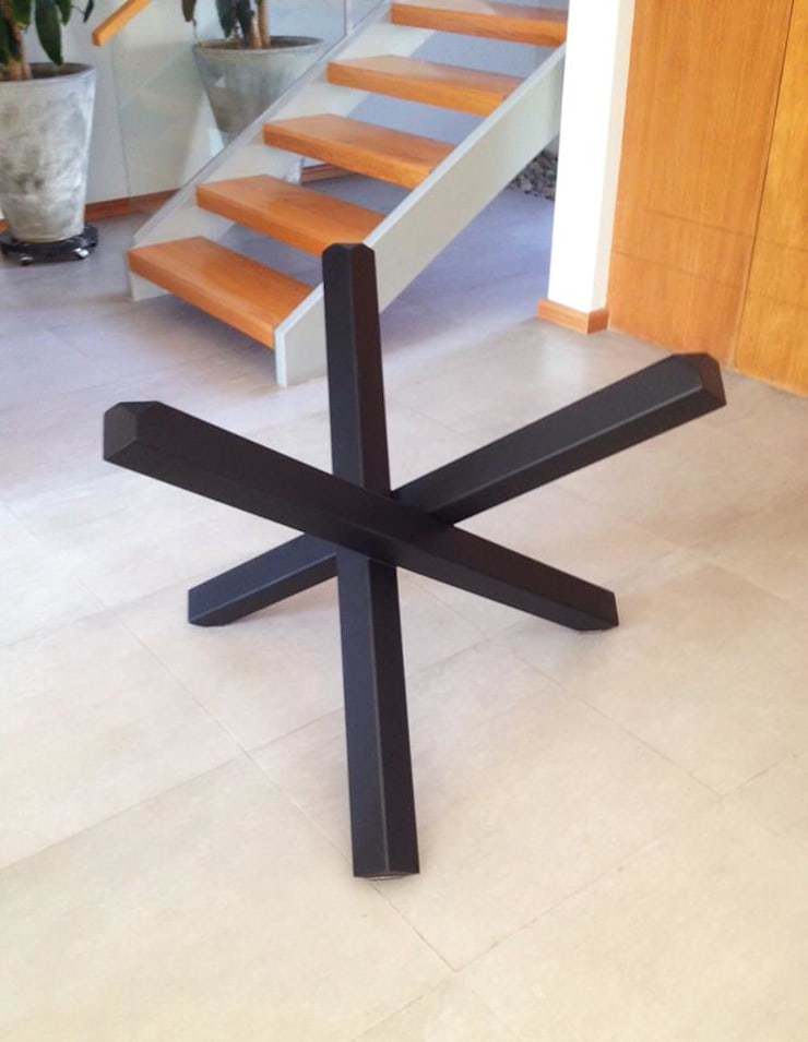 Muebles sobre diseño: Salas de estilo  por Weld