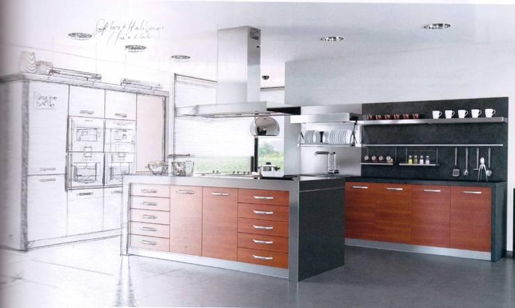 Amoblamientos: Cocinas de estilo moderno por Yatar Amoblamientos