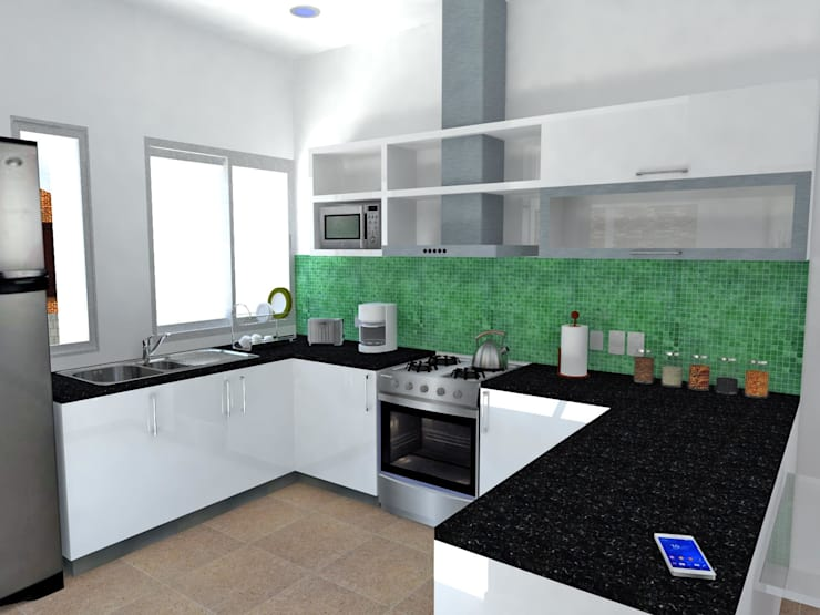 Reforma-Ampliación de vivienda familiar:  de estilo  por Martin Arquitectos