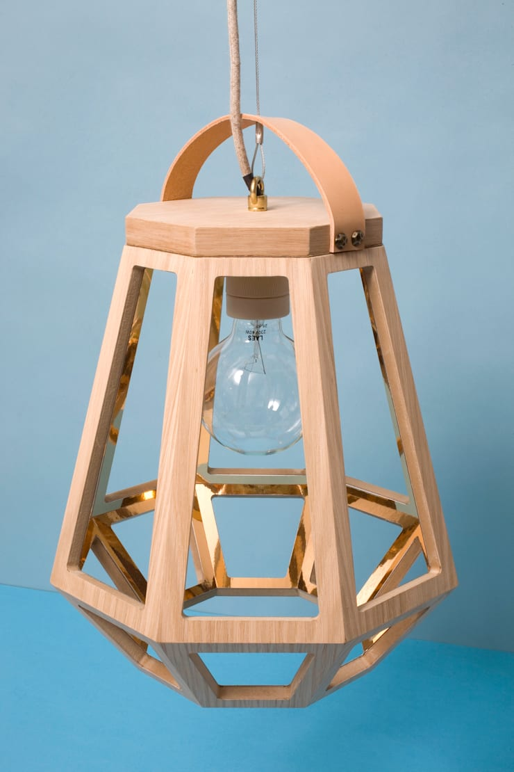 Lamp ZUID Small:  Eetkamer door Çedille by Françoise Oostwegel