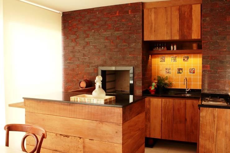 Apartamento Mansão Imperial: Terraços  por ArchDuo Arquitetura