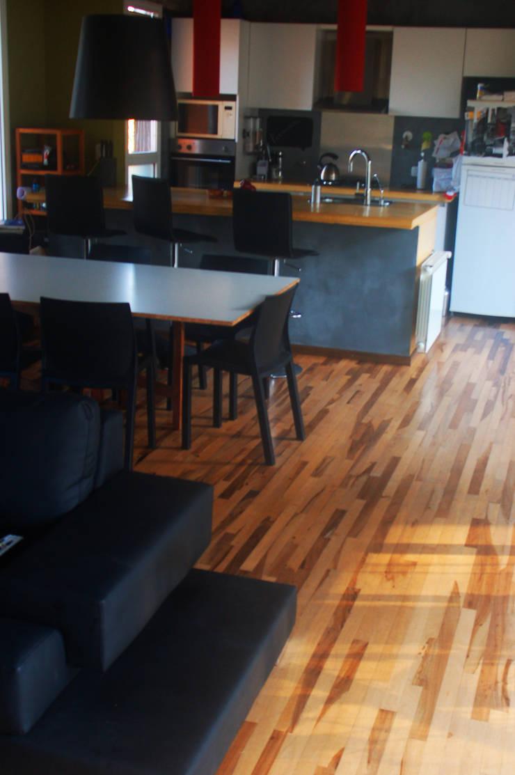 Casa Am 518 Comedores modernos de Rr+a bureau de arquitectos - La Plata Moderno