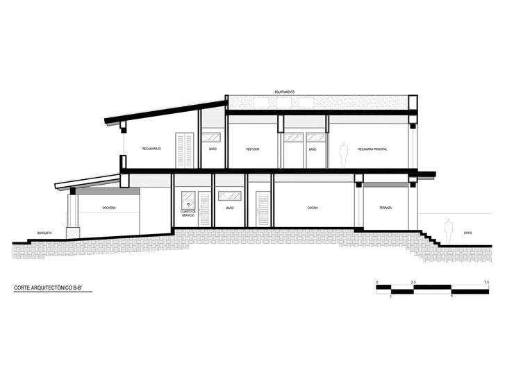 de estilo  por Imativa Arquitectos