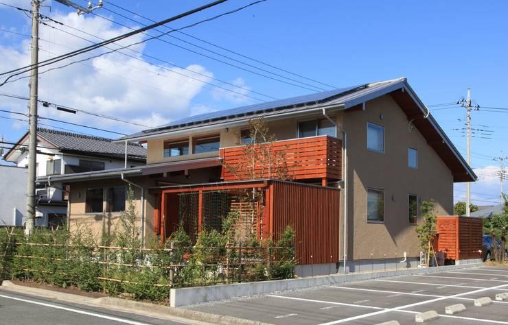 「Lがつなぐ家」 群馬県前橋市 オリジナルな 家 の 田村建築設計工房 オリジナル