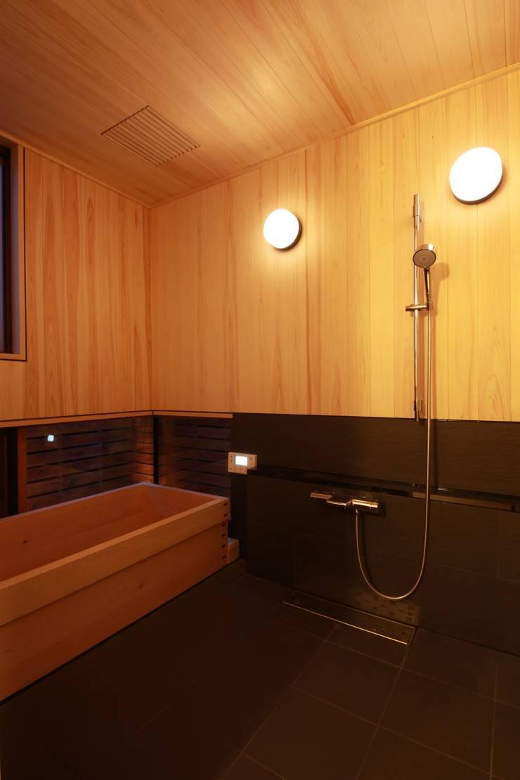 「Lがつなぐ家」 群馬県前橋市 オリジナルな スパ の 田村建築設計工房 オリジナル