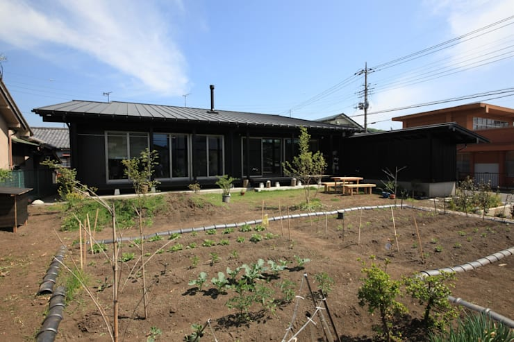 田村建築設計工房의  주택