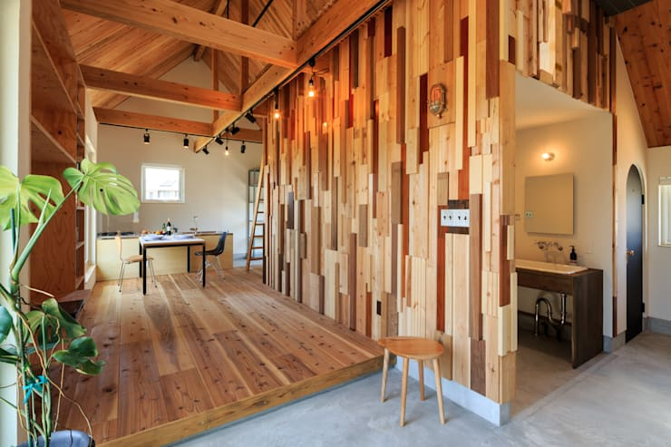 Living room by 株式会社プロトハウス事務局