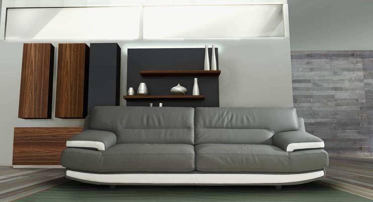 Alifax marki Nieri: styl , w kategorii  zaprojektowany przez Italian Style ,Klasyczny Skóra Szary