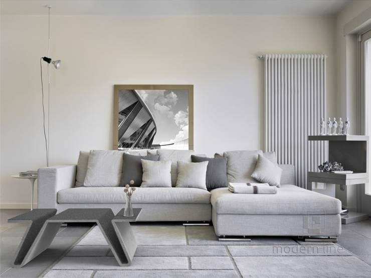 Salas / recibidores de estilo  por Modern Line