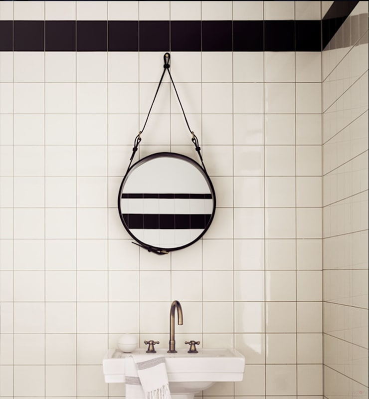 Gubi: styl , w kategorii Ściany i podłogi zaprojektowany przez Wzorywidze.pl