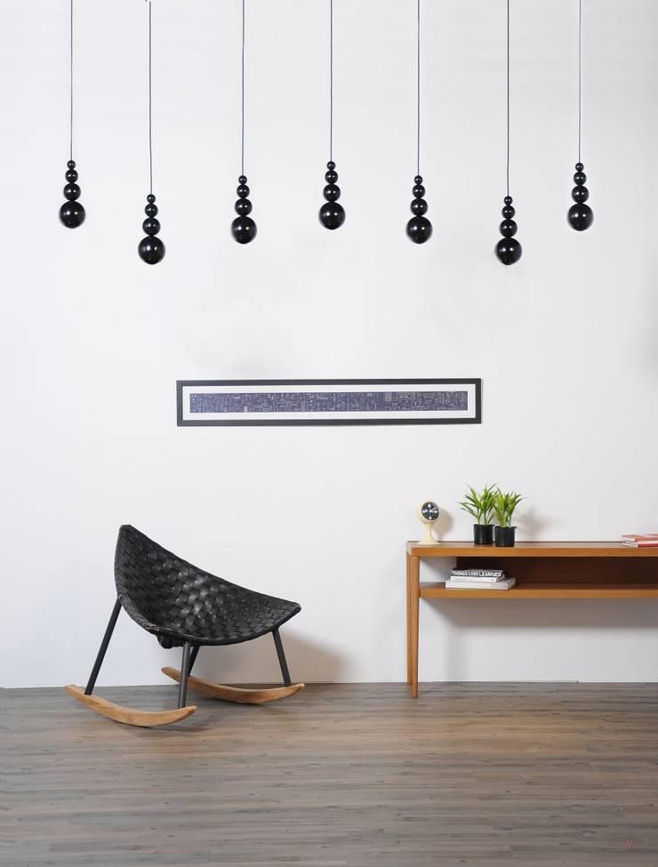 Innermost: styl , w kategorii Domowe biuro i gabinet zaprojektowany przez Wzorywidze.pl