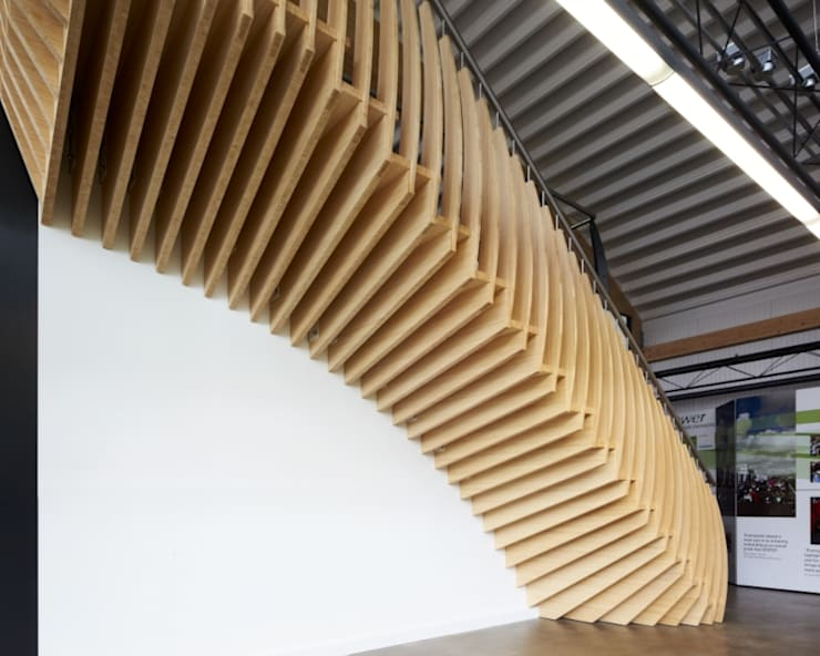 MindStep by ​EeStairs® EeStairs | Stairs and balustrades İskandinav Bambu Yeşil