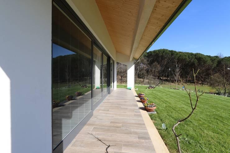 Projekty,  Domy zaprojektowane przez marco carlini architetto