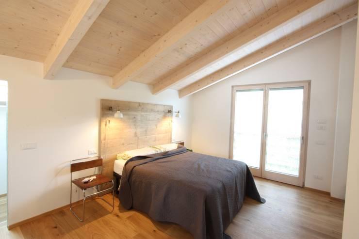 Projekty,  Sypialnia zaprojektowane przez marco carlini architetto