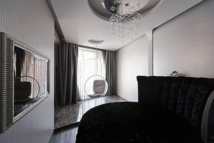 Борисоглебский квартира: Спальни в . Автор – bakhmetiev.com