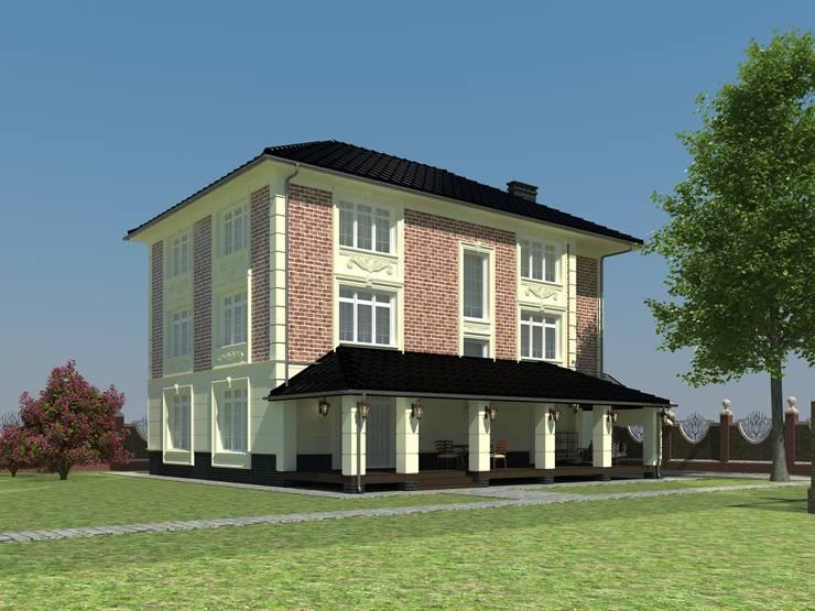 Индивидуальный жилой дом: Дома в . Автор – Андреева Валентина