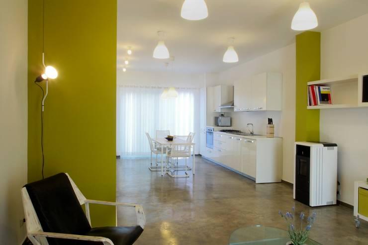 Projekty,  Kuchnia zaprojektowane przez Laboratorio di Progettazione Claudio Criscione Design