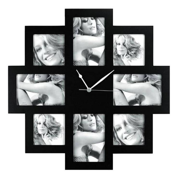 Horloge 8 photos: Murs & Sols de style de style Moderne par IdéeCadeau.fr