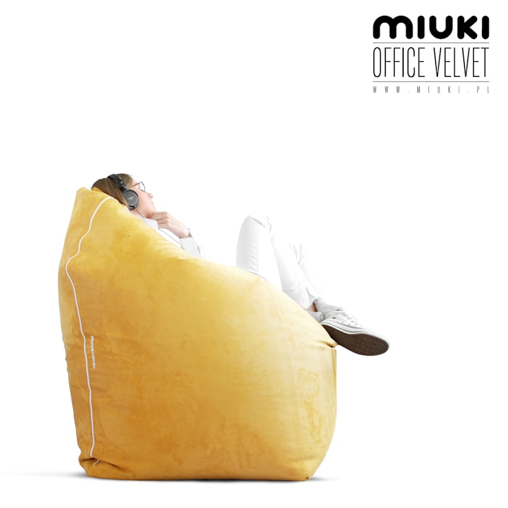 OFFICE VELVET: styl , w kategorii  zaprojektowany przez MIUKI,Nowoczesny