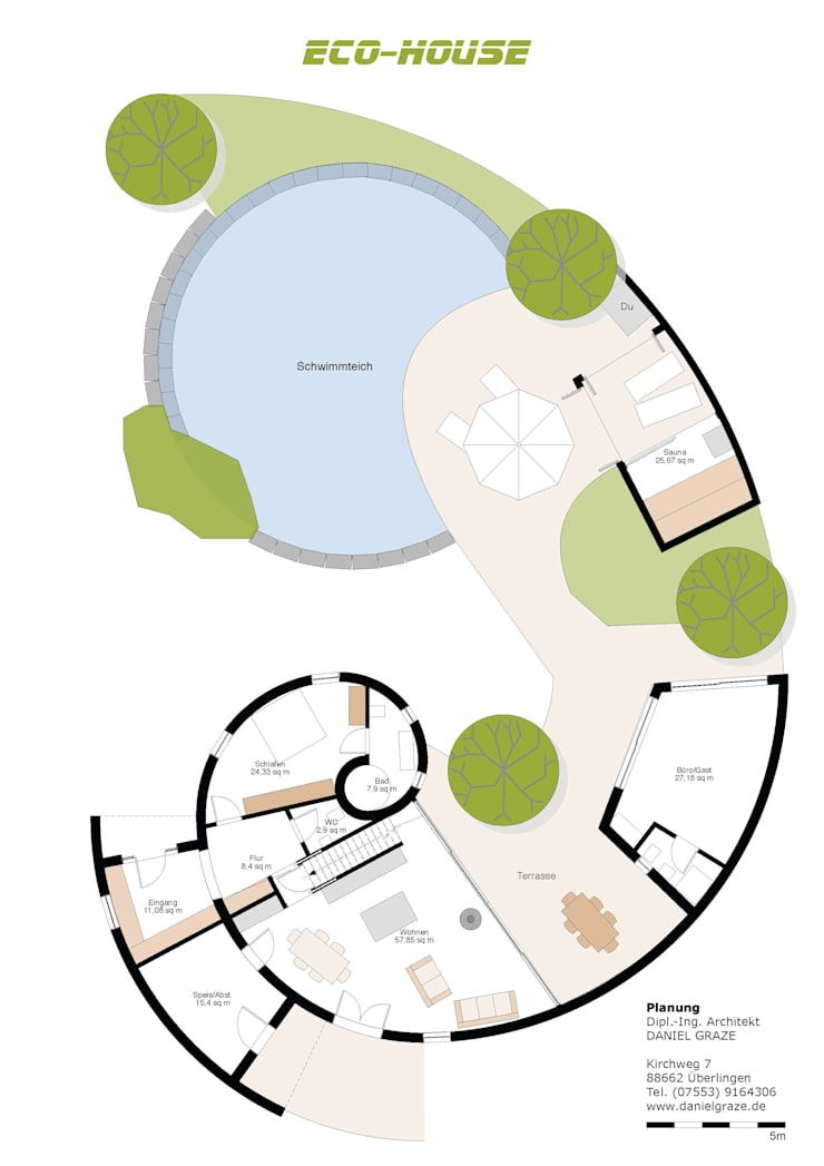 Erdgeschoss:   von health architecture*