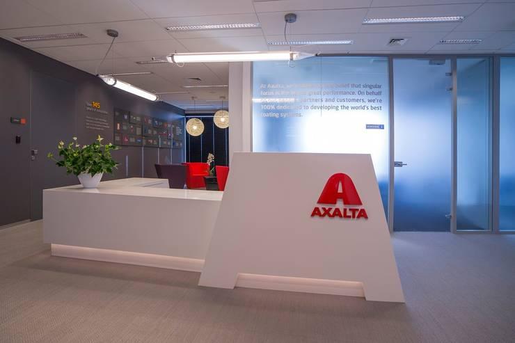 AXALTA: styl , w kategorii  zaprojektowany przez INSPACE