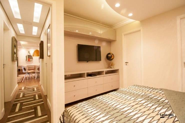 Apartamento: Quartos  por Artenova Interiores