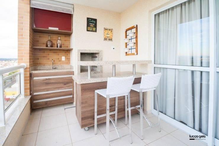 Apartamento: Terraços  por Artenova Interiores
