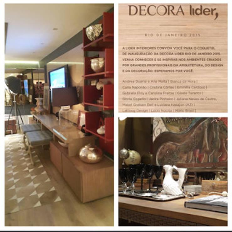 Detalhes do ambiente.: Sala de estar  por Lucio Nocito Arquitetura e Design de Interiores ,